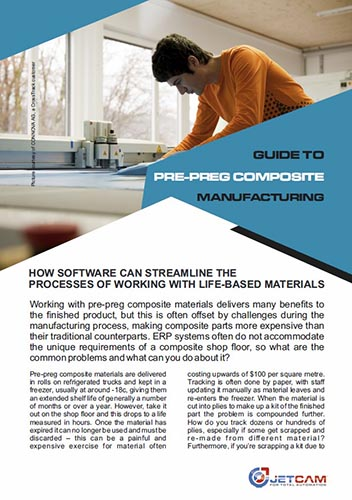 Guide to pre-preg composite material manufacturing software